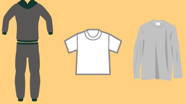 シャツとカットソー