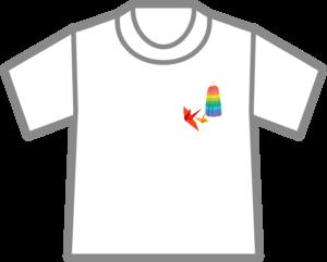 千羽鶴Tシャツ